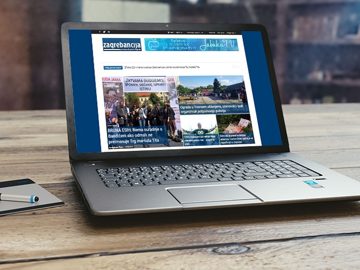 Zagrebancija Web Portal