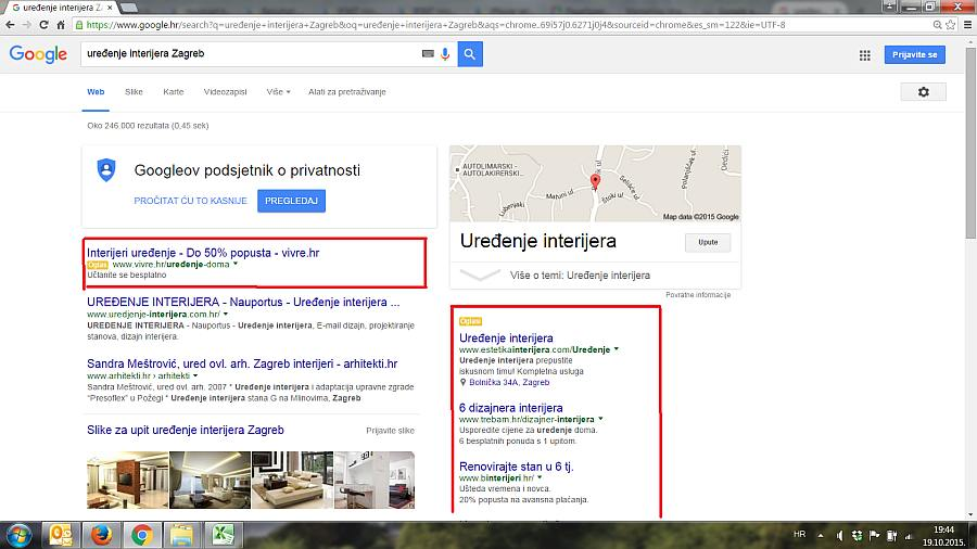 google adwords primjer